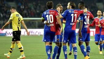 Young Boys gegen FC Basel im Stade de Suisse