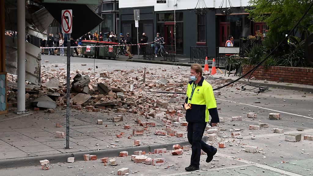 Erdbeben der Stärke 5,8 erschüttert Melbourne