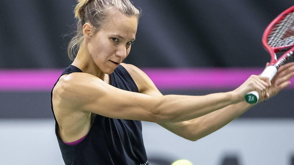 Viktorija Golubic freut sich, dass es am US Open in New York trotz Einschränkungen endlich wieder los geht