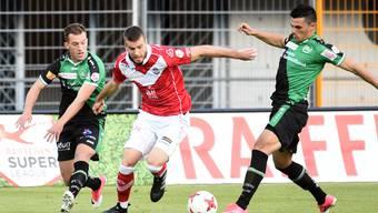 Domen Crnigoj und der FC Lugano bleiben auf Kurs Richtung Europa League