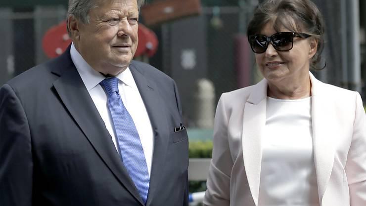 Sind nun US-Bürger: die Eltern von Präsidentengattin Melania Trump, Viktor und Amalija Knavs.