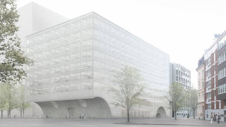 Neubau des Zentrums für Biomedizin