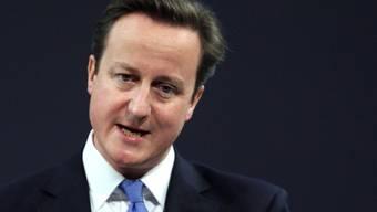 Der britische Premierminister David Cameron kommt in die Schweiz (Archiv)