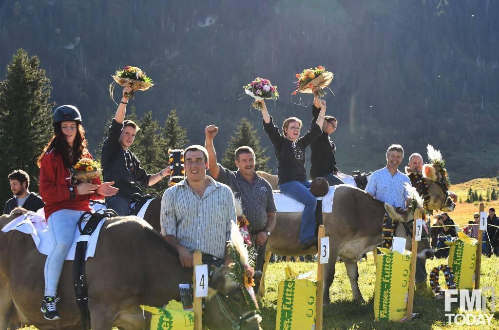 Alpchäsmarkt mit Kuhrennen
