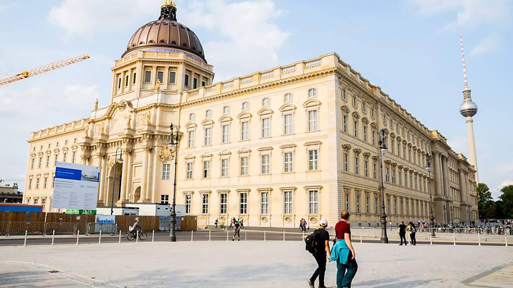 Bereits 100'000 Menschen zu Besuch im Humboldt Forum Berlin