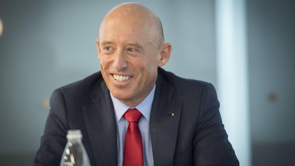 Patrik Gisel muss nach 19 Jahren bei der Raiffeisen als CEO per sofort zurücktreten.