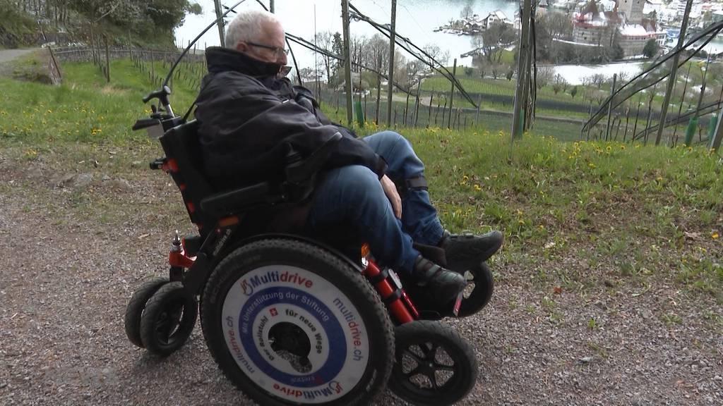 Erlenbacher Firma konstruiert ersten geländegängigen Rollstuhl