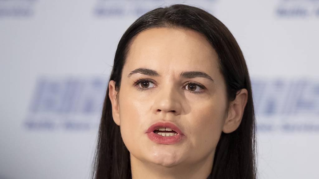Belarussische Oppositionelle erwartet Unterstützung
