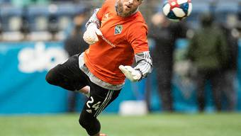 Der Ostschweizer Goalie Stefan Frei spielt seit sechs Jahren bei den Seattle Sounders und gewann mit diesen den Meistertitel in der nordamerikanischen Major League Soccer (MLS)
