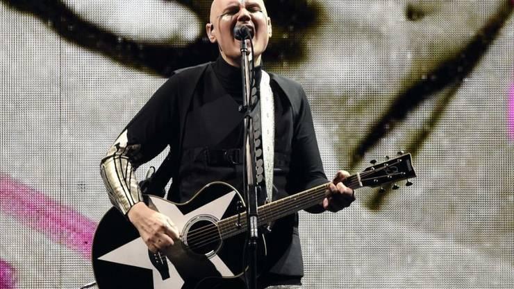Billy Corgan der Band Smashing Pumpkins ist im Oktober 2018 erneut Vater geworden. (Archiv)