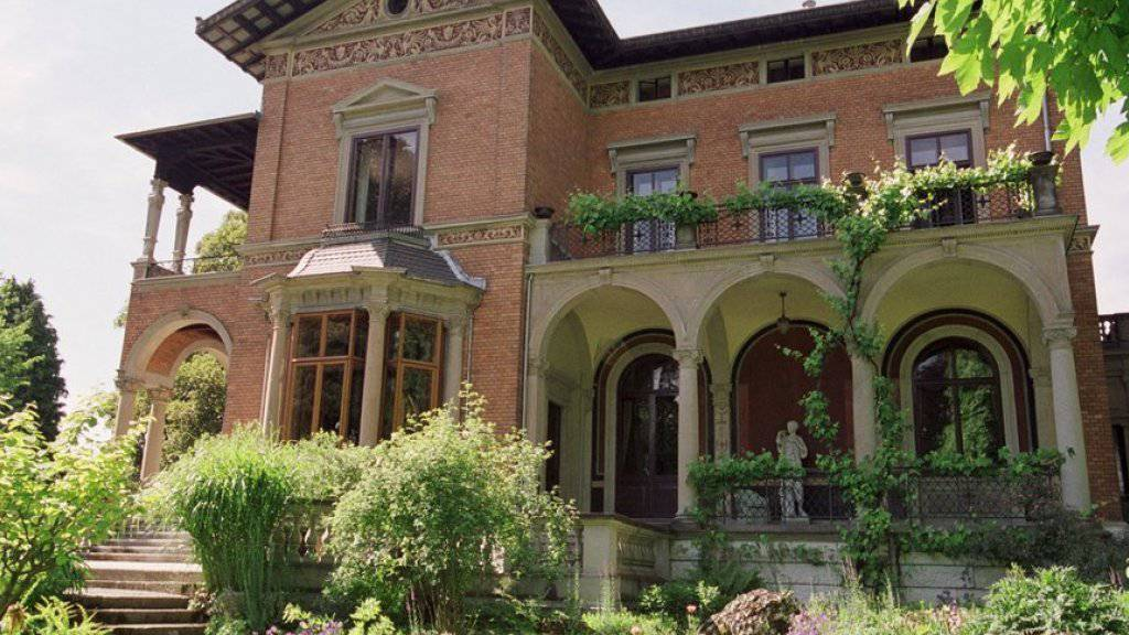 In der Villa Bleuler in Zürich befinden sich der Sitz des Schweizerischen Instituts für Kunstwissenschaft (SIK-ISEA) und die Deutschweizer Redaktion des Online-Lexikons SIKART (Archiv)