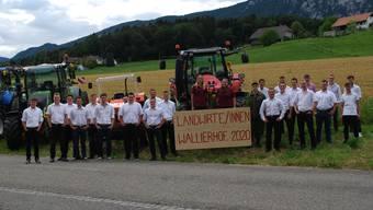 Lehrabschlussfeier Landwirtin EFZ Wallierhof