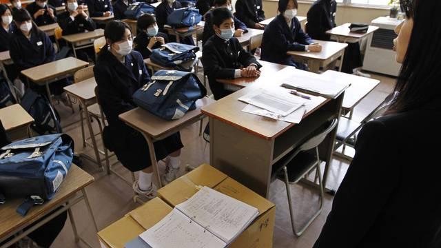 Die Grenzwerte für radioaktive Strahlung an Schulen in Japan ist erhöht worden (Archiv)