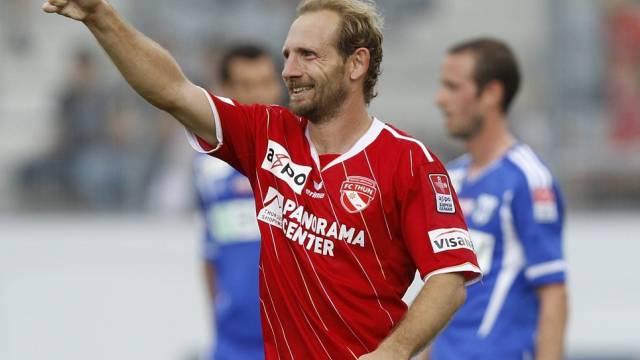 Thuns Mauro Lustrinelli gab Rücktritt bekannt.
