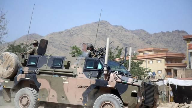 NATO-Soldaten in Kabul