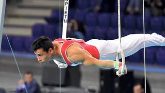 Eddy Yusof wusste sich im Vergleich zur Qualifikation nicht zu steigern und erreichte im Mehrkampf-Final nur Platz 14