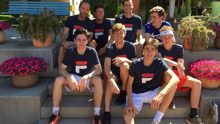 2. Liga-Herrenmannschaft des Tennisclubs Rheinfelden