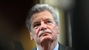 «Es gibt ein helles Deutschland, das sich leuchtend darstellt gegenüber dem Dunkeldeutschland»: Joachim Gauck, scheidender Bundespräsident.