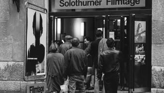 Foto der 21. Solothurner Filmtage im Jahr 1986