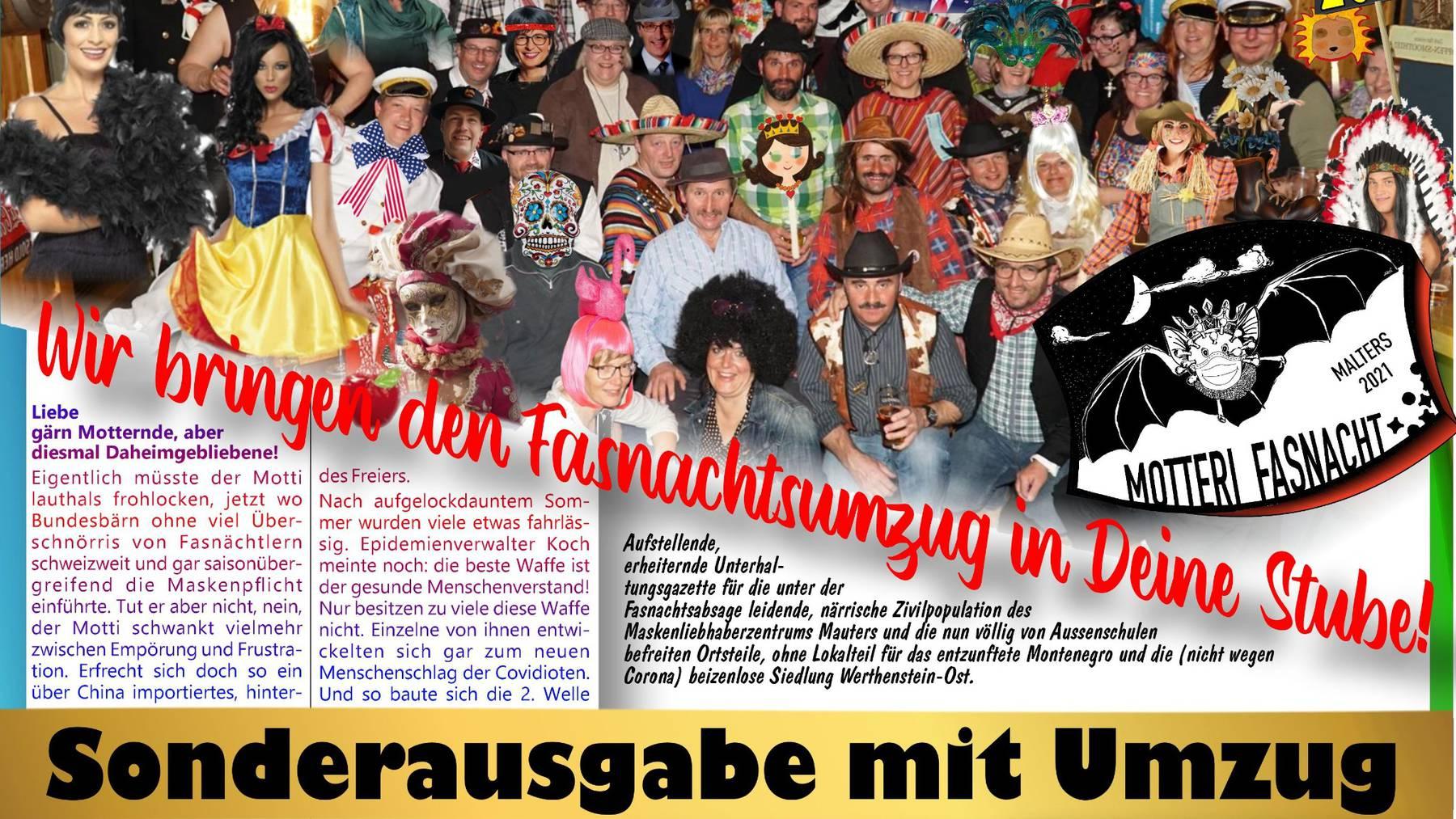 Titalblatt Zeitung 2021