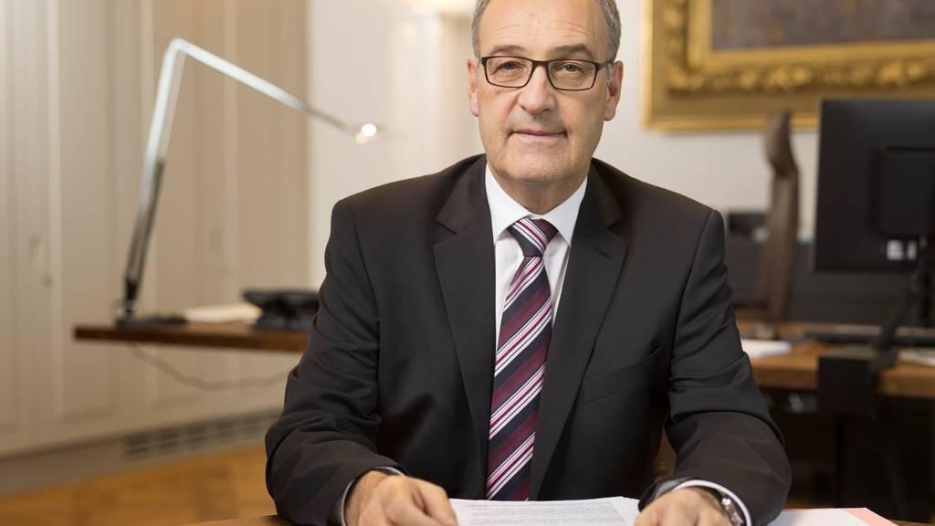 Bundesrat Parmelin kann die Quarantäne an Heiligabend verlassen