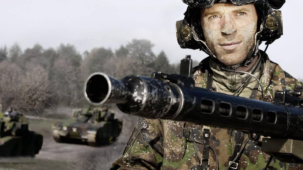 Schweiz verkauft viel Kriegsmaterial in andere Länder