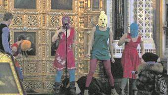 Das umstrittene Video von Pussy Riot.