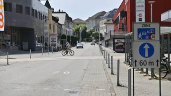 Solothurnstrasse Begegnungszone