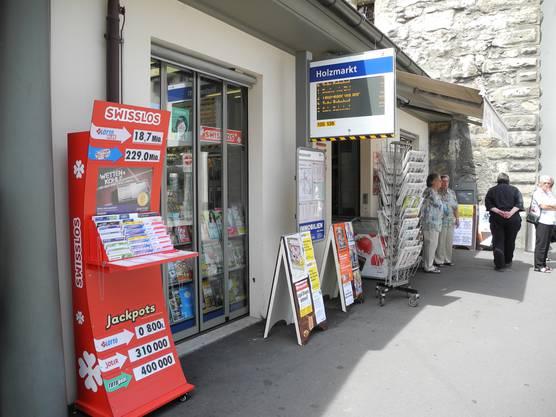 Kiosk «Landjäger» in Aarau