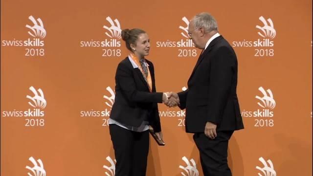 Hotelfachfrau EFZ an den Swiss Skills: Nicole Brosi holt Bronze