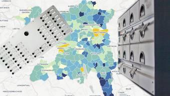 Wo im Aargau die meisten Menschen pro Haushalt wohnen