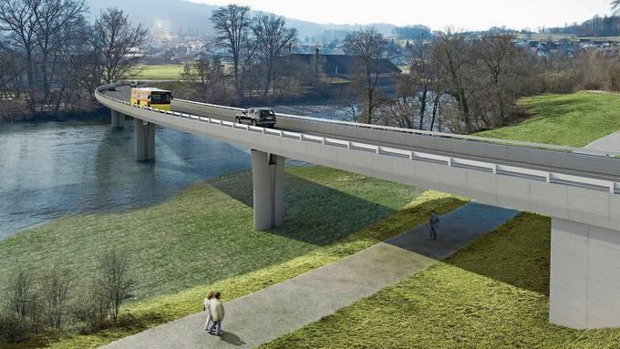 Am 2. Juni beginnen die Bauarbeiten an der Umfahrung. In drei Jahren soll die zwei Kilometer lange Strecke befahrbar sein.