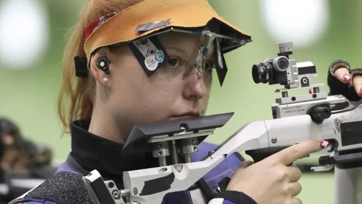 Nina Christen feierte am Weltcup in Neu-Dehli den grössten Erfolg ihrer Karriere