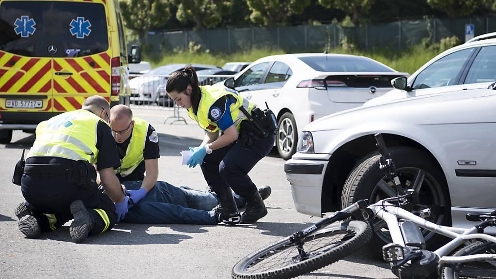 Weniger Getötete und Schwerverletzte auf der Strasse