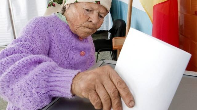 Die Wahlbeteiligung in Moldawien war zu gering (Archiv)