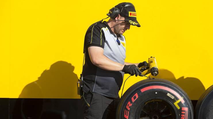 Pirelli reduziert die Gummimischungen für die Rennen von sieben auf fünf.
