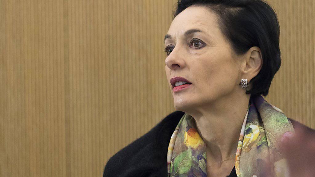 Marianne Binder-Keller führt die Aargauer CVP als neue Kantonalpräsidentin in die Wahlen.