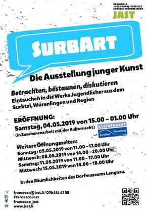 SurbArt Flyer