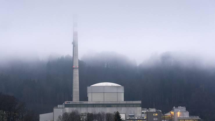 Das Atomkraftwerk Mühleberg kurz vor der Abschaltung.
