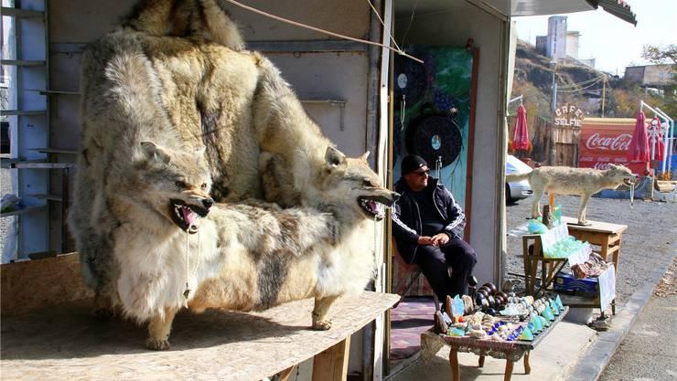 Auf dem Markt von Sewanawank zeigen die Wölfe ihre Zähne.