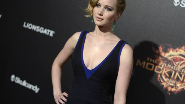 Die Boa mochte ihren Nacken: Jennifer Lawrence (Archiv)