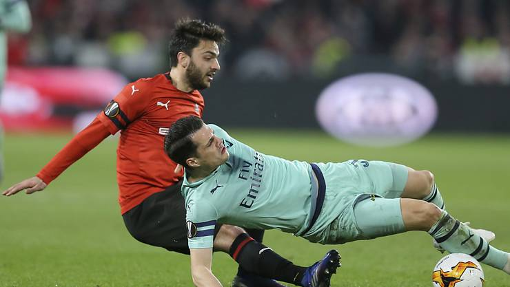 Granit Xhaka und Arsenal glitten beim Gastspiel in Rennes aus