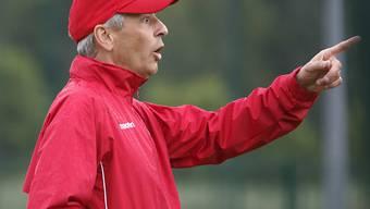 Nice-Trainer Lucien Favre vor dem Start in der Ligue 1