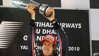 Sebastian Vettel: So jubelt der neue Formel-1-Weltmeister