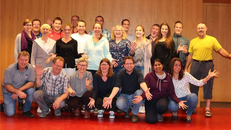 Die Theaterbühne des Turnvereins Zuzgen freut sich auf die neue Produktion. zvg
