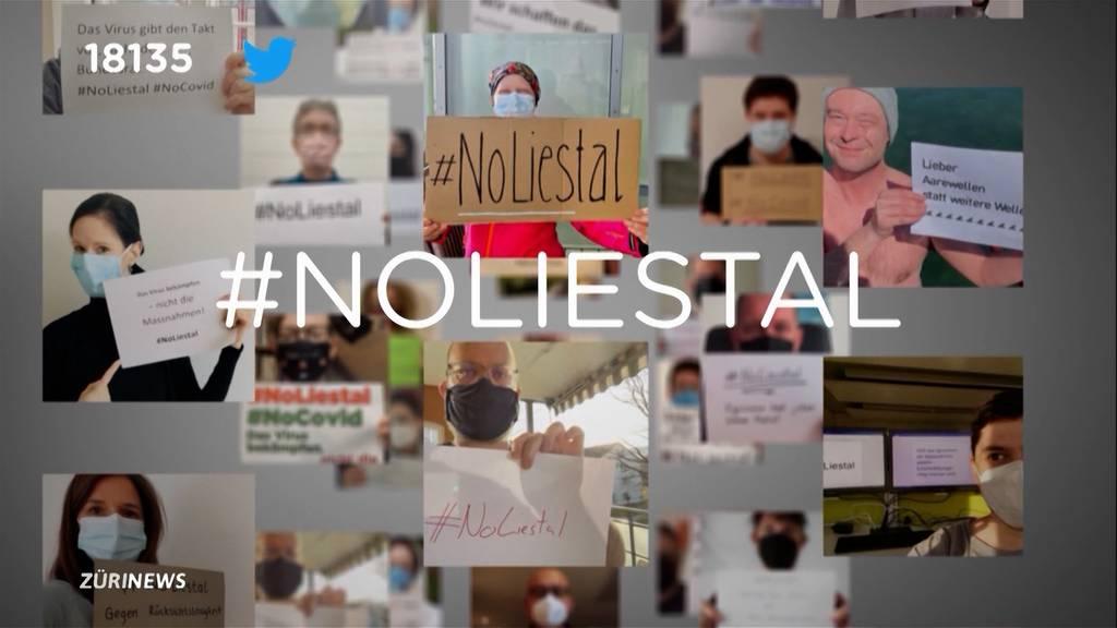 #NoLiestal: Gegenbewegung zu Corona-Demos gestartet