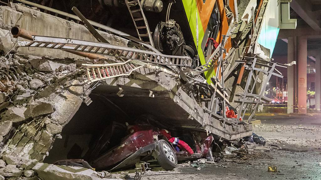 Totenzahl nach U-Bahnunglück in Mexiko bei 25 - Untersuchung begonnen