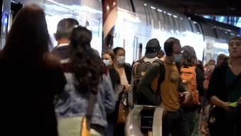 Maskentragpflicht im öffentlichen Verkehr grösstenteils befolgt