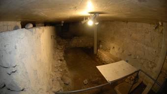 Ist ein vermisstes Stück unter der Peterskapelle versteckt?