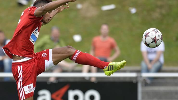 Luiyi Lugo erzielte den 2:2-Ausgleich für den FC  Baden.